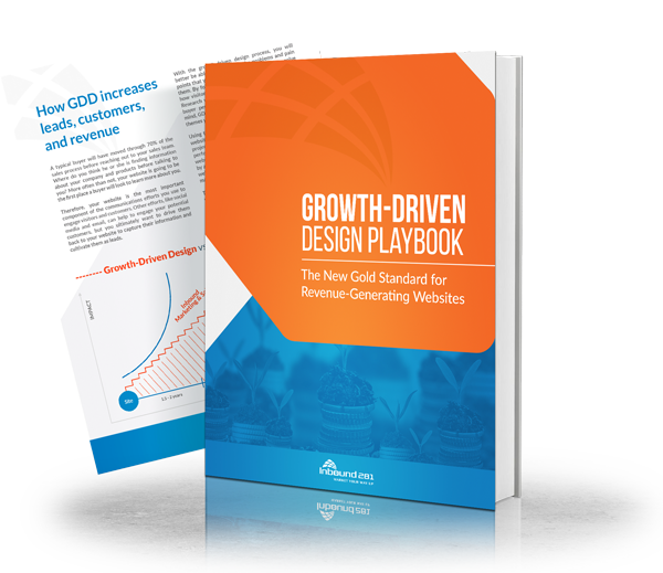 Image of Growth-Driven Design Playbook. An innovative website design process that delivers updates based on data and user behavior.