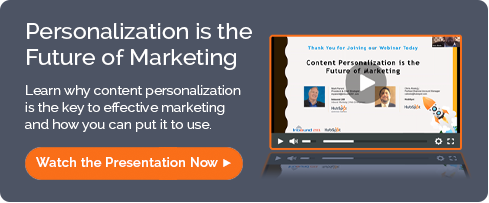 Content Personalization is the Future of Marketing webinar